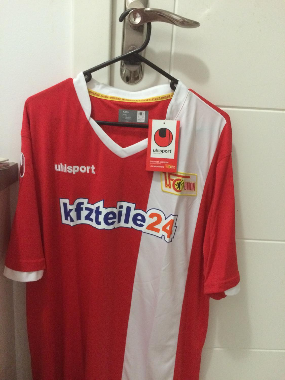 1 FC Union Berlin Trikot 2014//15 Home Uhlsport XXL