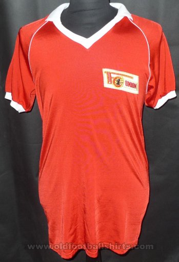 1. FC Union Berlin  Home football shirt 1988 - 1989