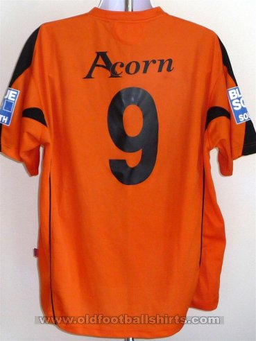 Newport County Home football shirt 2007 - 2009