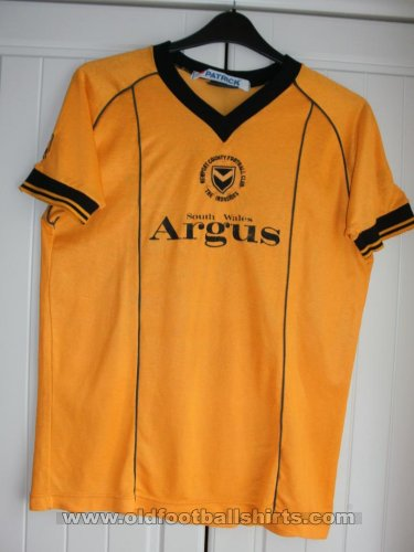 Newport County Home football shirt 1983 - 1984