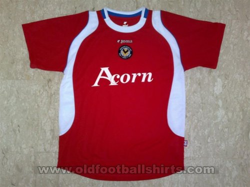 Newport County Away football shirt 2007 - 2009