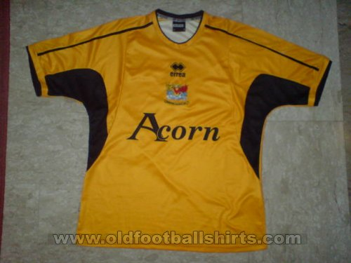 Newport County Home football shirt 2006 - 2007