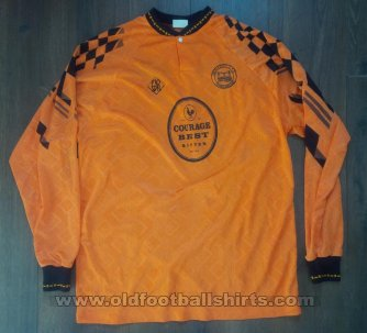 Newport County Home Camiseta de Fútbol 1994 - 1995
