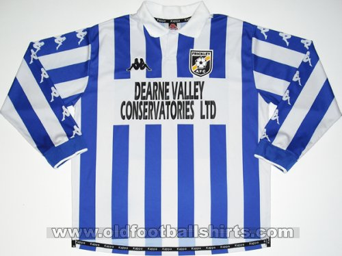 Frickley Athletic Home maglia di calcio 1998 - 1999