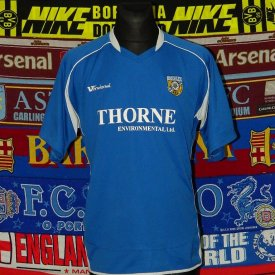 Frickley Athletic Home football shirt (unknown year) sponsored by Thorne Environmental
