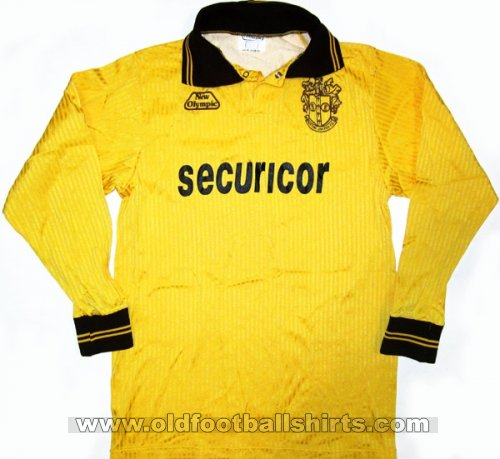 Sutton United Home football shirt 1991 - 1992