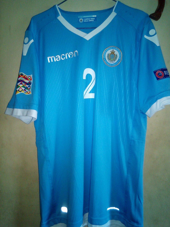San Marino Fussball Fanshirt Fan Shirt Tshirt Fanartikel Artikel M/änner Herren T-Shirts