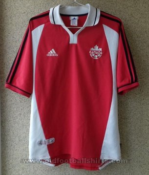Canada Home football shirt 2001 - 2002