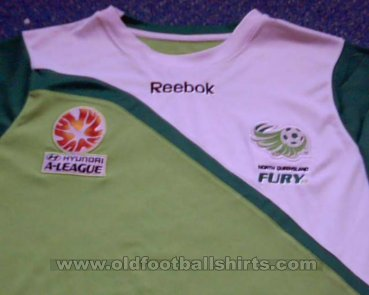 North Queensland Fury Home voetbalshirt  2010 - 2011