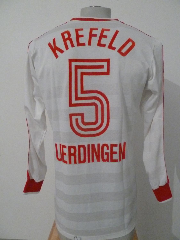 KFC Uerdingen 05 Away football shirt 1985 - 1986. Added on ...