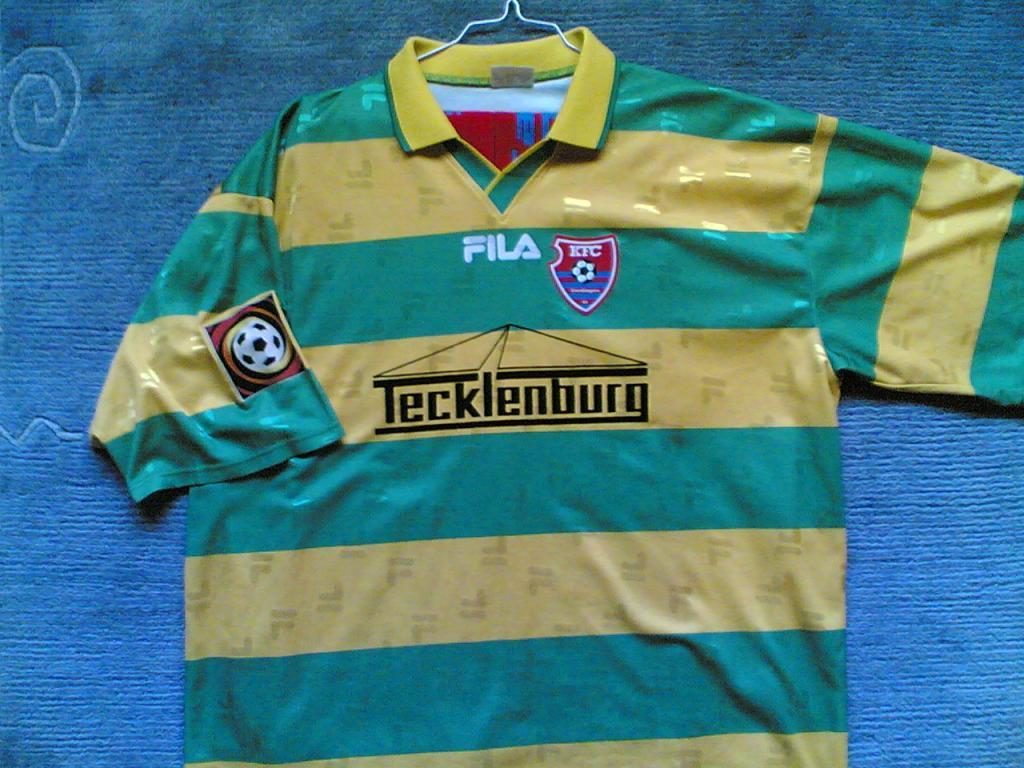 KFC Uerdingen 05 Away football shirt 2001 - 2002. Added on ...