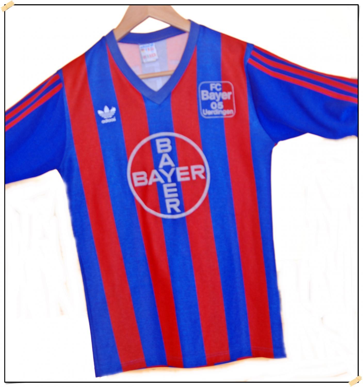 KFC Uerdingen 05 Local Camiseta de Fútbol 1987 - 1988 ...
