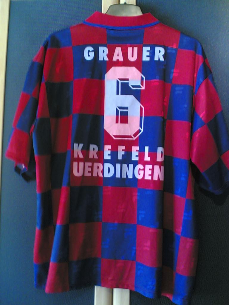 KFC Uerdingen 05 Home football shirt 2001 - 2002. Added on ...