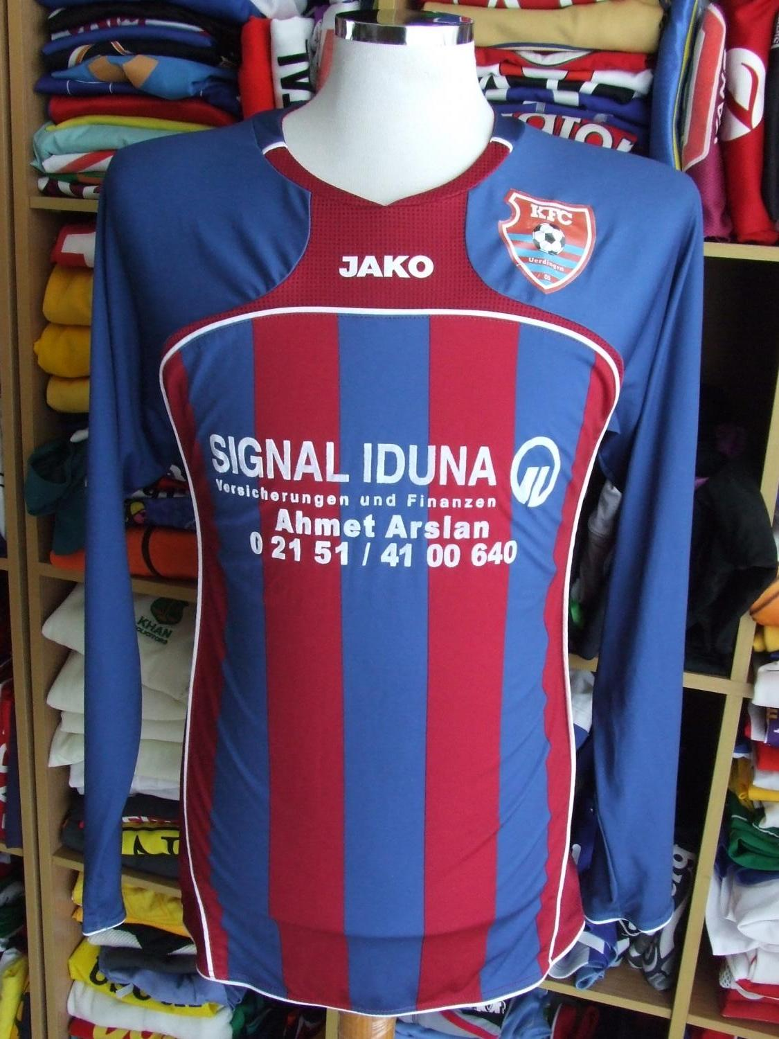 KFC Uerdingen 05 Home football shirt (unknown year). Added ...