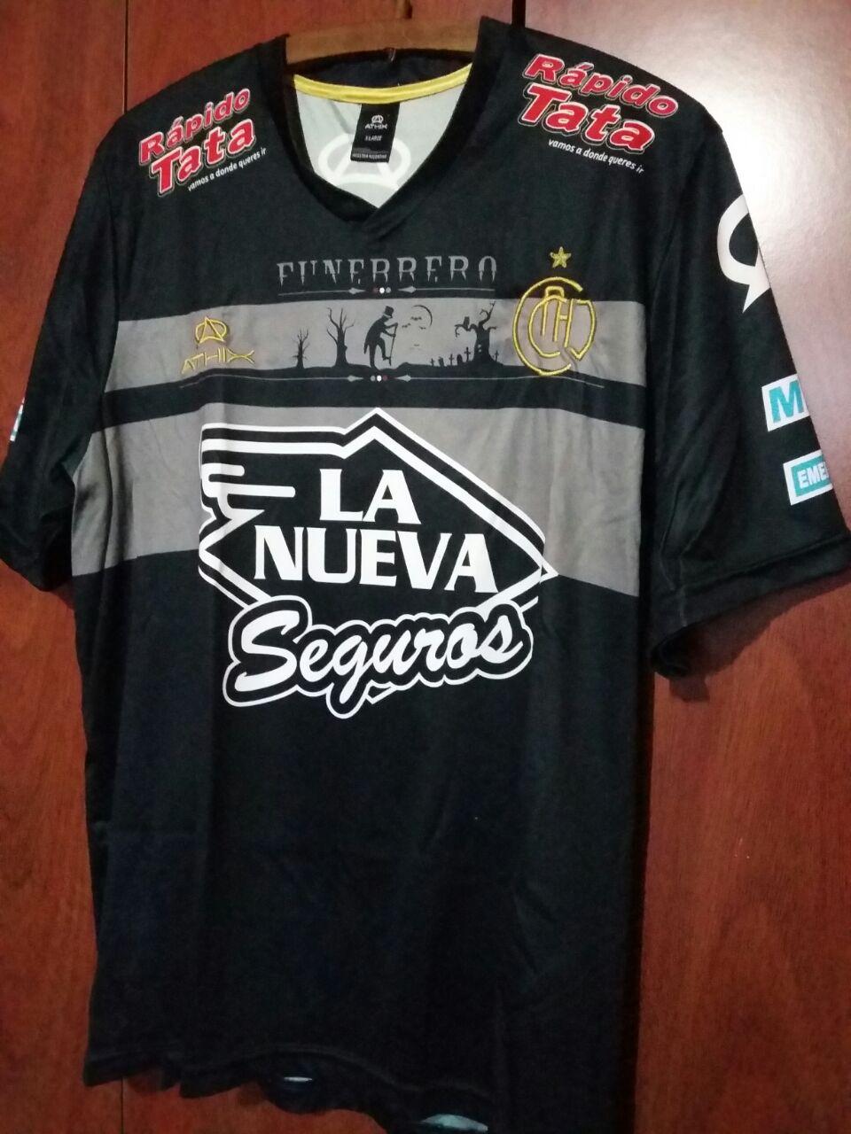 Chacarita Juniors Away Camiseta de Fútbol 2012 - 2013. ef882dc9c6e68