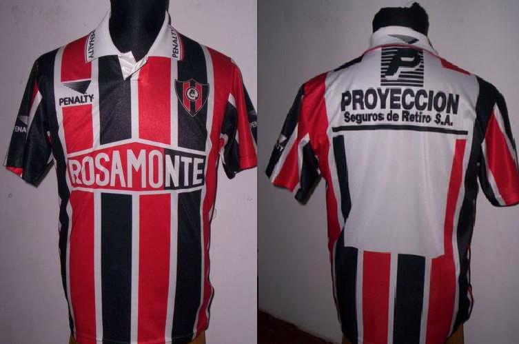 Chacarita Juniors Home Camiseta de Fútbol 1992. 4bdf3c6c7c4de