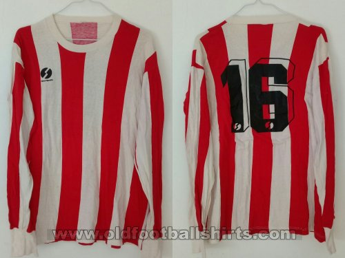 Instituto De Cordoba Home baju bolasepak 1981