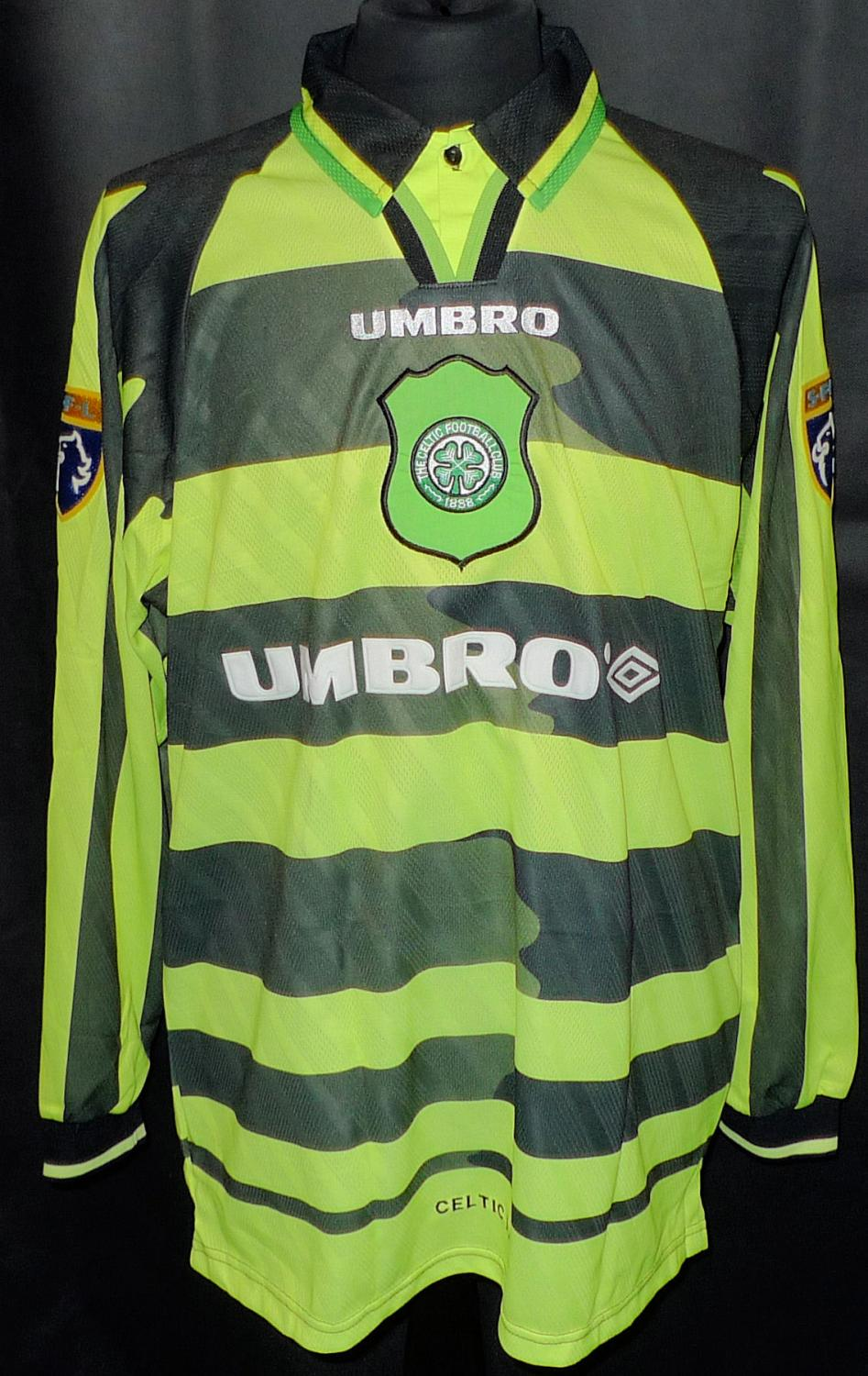 low priced df575 ddd30 Celtic Away football shirt 1997 - 1998. Sponsored by Umbro