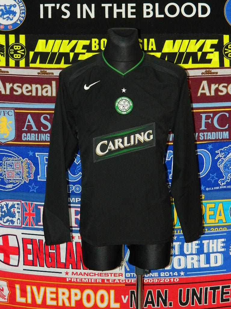 151191656 Celtic Third football shirt 2005 - 2007. Sponsored by Carling