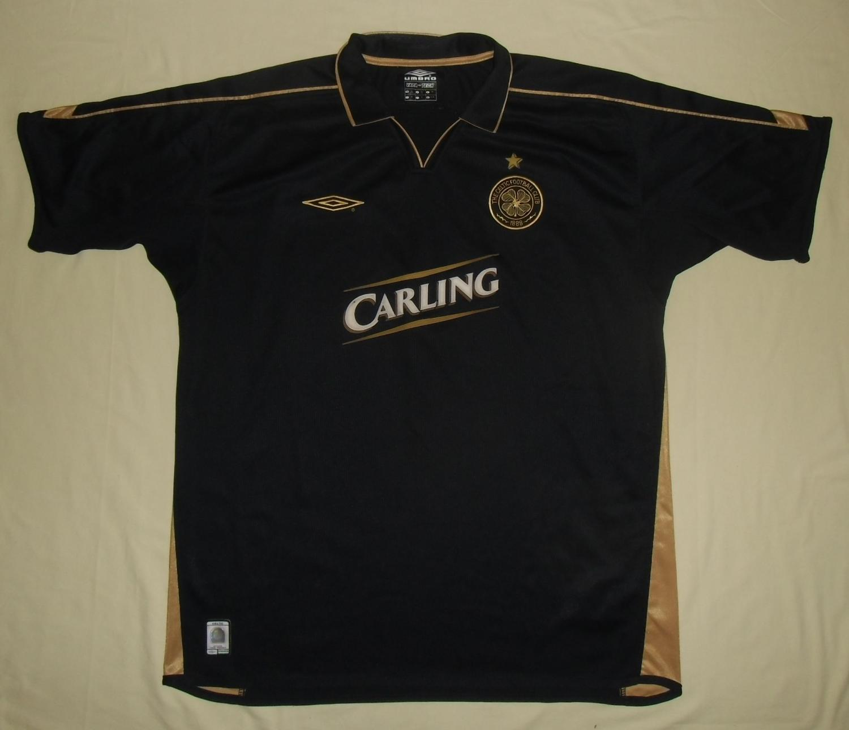 Celtic Away football shirt 2003 - 2004. Sponsored by Carling