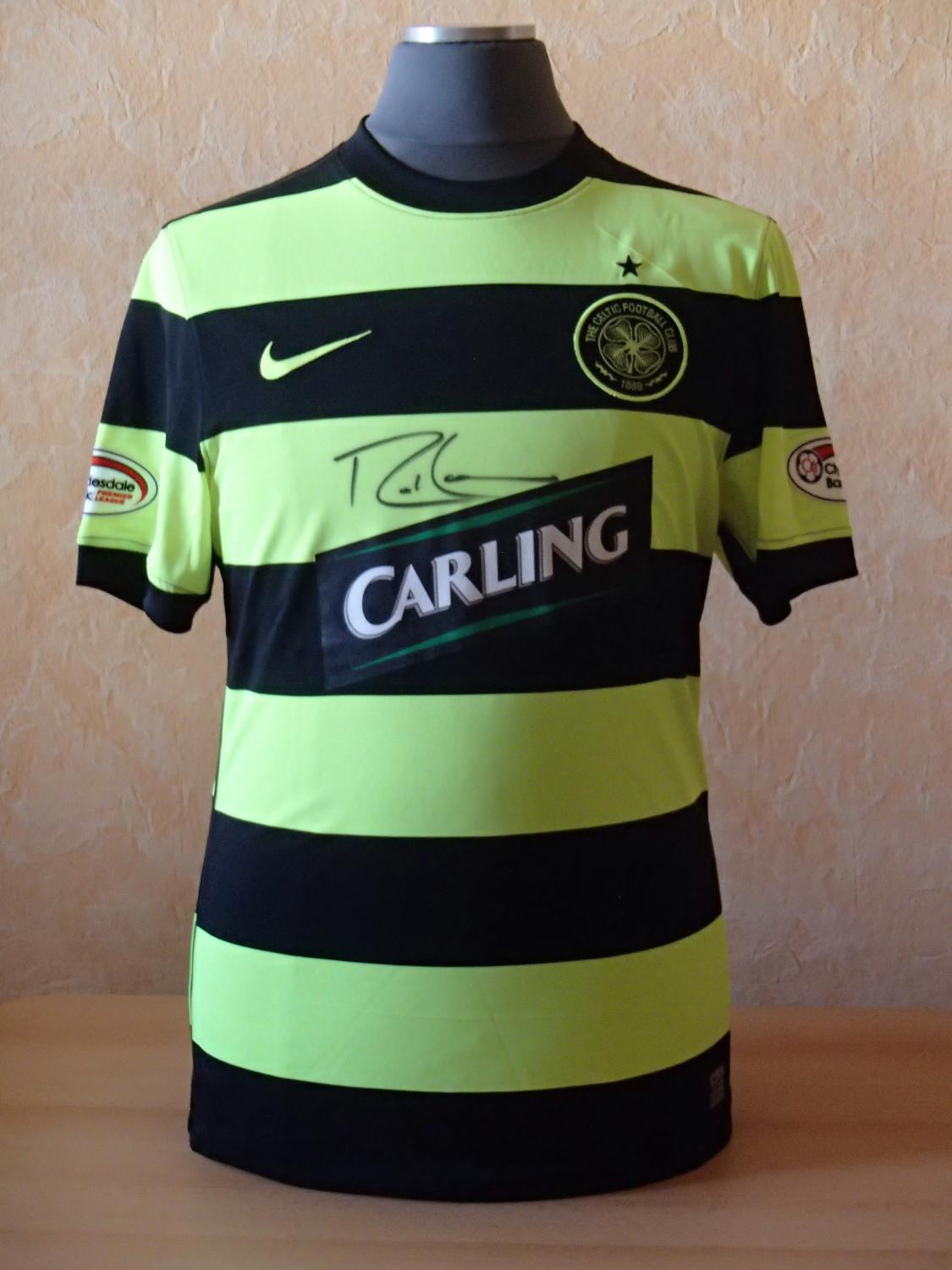 f0cad5e9ea7 Celtic Away Maillot de foot 2009 - 2011. Sponsored by Carling