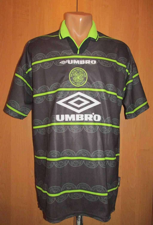 Celtic Away football shirt 1998 - 1999. Sponsored by Umbro