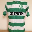 Celtic football shirt 1987 - 1989