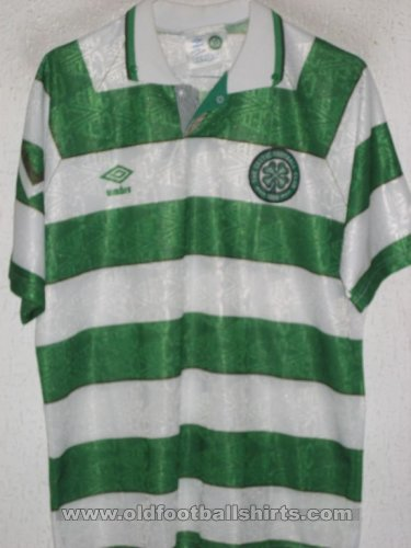 Celtic Home футболка 1992 - 1993