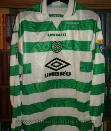 Celtic Home football shirt 1997 - 1999