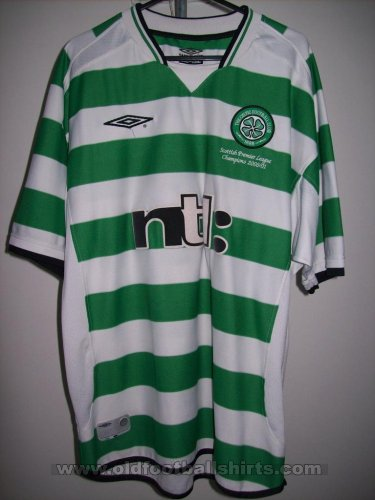 Celtic Home voetbalshirt  2001 - 2003