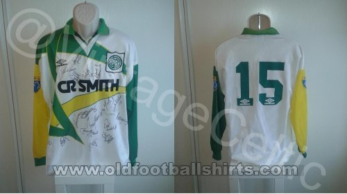 Celtic Away football shirt 1994 - 1995
