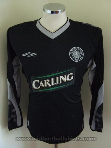 Celtic Goalkeeper football shirt 2003 - 2005