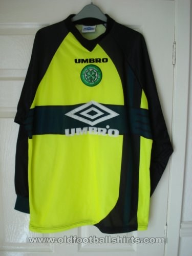 Celtic Goalkeeper football shirt 1997 - 1999