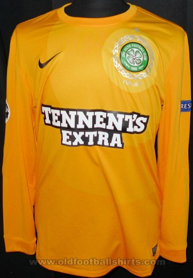 Celtic Goalkeeper football shirt 2012 - 2013
