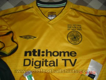 Celtic Away football shirt 2002 - 2003
