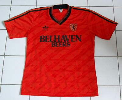 Dundee United Home fotbollströja 1987 - 1988  Sponsored by