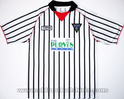 Dunfermline Athletic Home football shirt 2005 - 2006