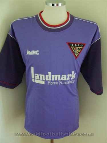 Dunfermline Athletic Away football shirt 1998 - 1999