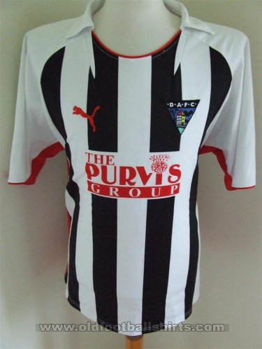 Dunfermline Athletic Home football shirt 2008 - 2009