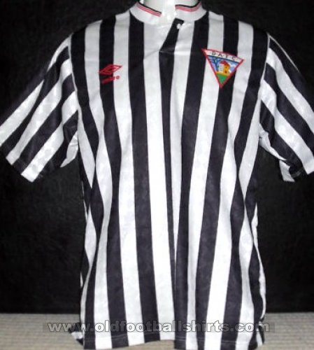 Dunfermline Athletic Home football shirt 1988 - 1990