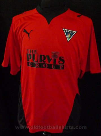 Dunfermline Athletic Away football shirt 2009 - 2010