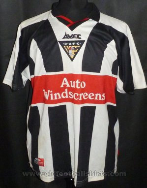 Dunfermline Athletic Home football shirt 1999 - 2000