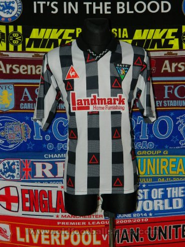 Dunfermline Athletic Home football shirt 1996 - 1997