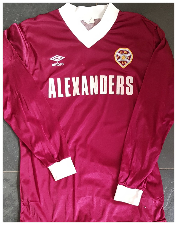 new concept 73838 6f96d Heart Of Midlothian Home football shirt 1982 - 1983 ...
