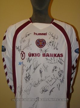 Heart Of Midlothian Away football shirt 2006 - 2007