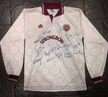 Heart Of Midlothian Away Fußball-Trikots 1992 - 1993