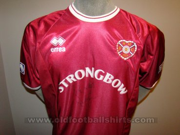 Heart Of Midlothian Home Camiseta de Fútbol 2000 - 2001