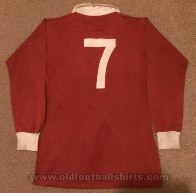 Heart Of Midlothian Home football shirt 1965 - 1968