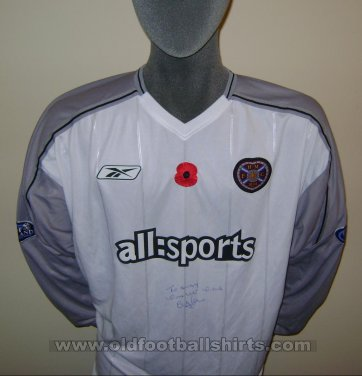 Heart Of Midlothian Away football shirt 2003 - 2004