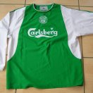 Hibernian football shirt 2003 - 2004